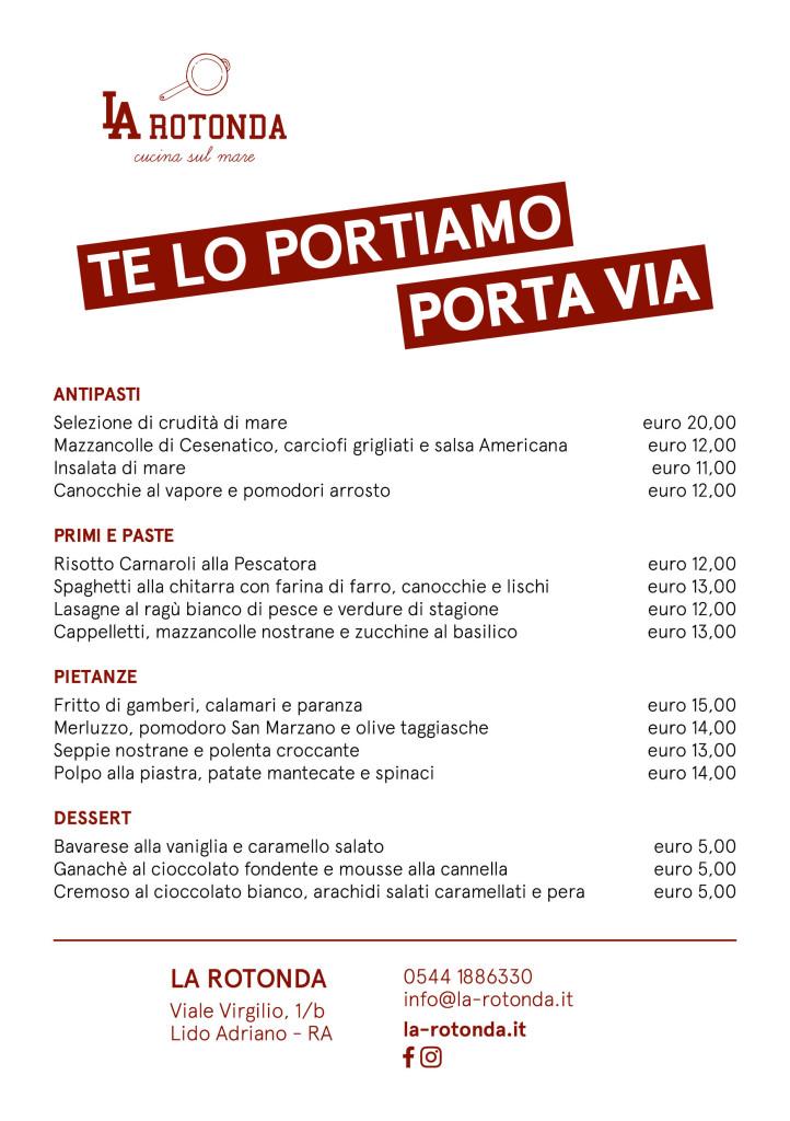 La Rotonda-menu asporto-270420